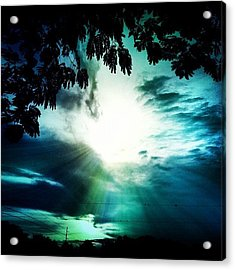 Have A #good #evening #friends Acrylic Print