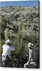 Having Received A Tip From An Informant Acrylic Print by Robert Sisson