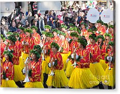 Hawaii All-state Marching Band IIi Acrylic Print by Clarence Holmes