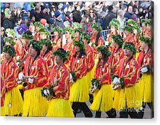 Hawaii All-state Marching Band Iv Acrylic Print by Clarence Holmes