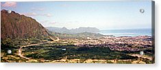 Hawaii Overlook Acrylic Print