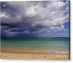 Hawaiian Storm Acrylic Print by Kimberley Bennett