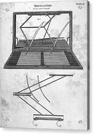 Hawkins Polygraph, 1803 Acrylic Print by Granger
