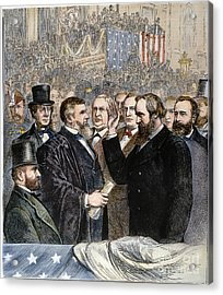 Hayes Inauguration Acrylic Print by Granger