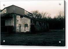 He Ginning Systems Acrylic Print
