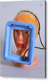 Head 4 Acrylic Print by Iris Gill