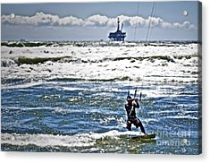 Heading Back Out Acrylic Print by Gwyn Newcombe