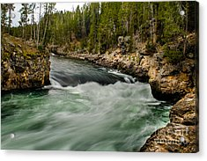 Heading For The Fall Acrylic Print by Robert Bales