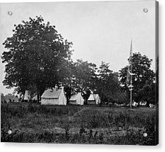 Headquarters - Army Of The Potomac - Fairfax Courthouse Virginia 1863 Acrylic Print by International  Images