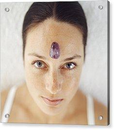 Healing Crystal Acrylic Print