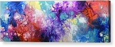 Healing Energies Acrylic Print