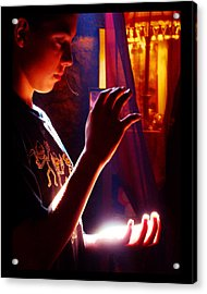 Acrylic Print featuring the photograph Healing Hands by Susanne Still