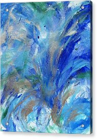 Healing Waves Acrylic Print by Bethany Stanko