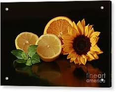 Healthy Food Matters Acrylic Print by Inspired Nature Photography Fine Art Photography
