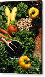 Healthy Foods Acrylic Print by Photo Researchers