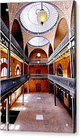 Hearst Mining Building Acrylic Print by Leori Gill
