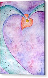 Heart Of The Universe Acrylic Print by Asida Cheng