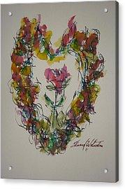 Heart Strings Acrylic Print by Edward Wolverton