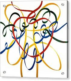 Heart Strings Acrylic Print by Neil McBride