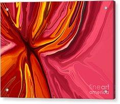 Heartache Acrylic Print by Chris Butler