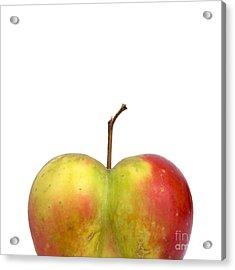 Heart.apple. Acrylic Print by Bernard Jaubert