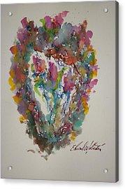 Hearts Pleasures Acrylic Print by Edward Wolverton