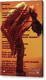 Hearts Acrylic Print by Richard Donin
