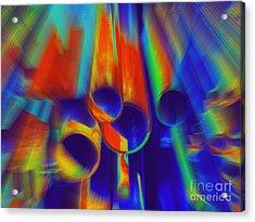 Heat Acrylic Print by Irina Hays