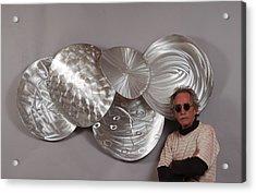 Heat Of Shadows Acrylic Print by Mac Worthington