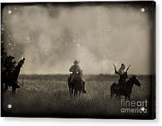 Heat Of The Battle Acrylic Print by Kim Henderson