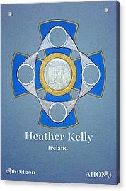 Heather Kelly Acrylic Print