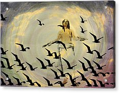 Heaven Sent Acrylic Print by Bill Cannon