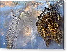 Heavenly Cathedral Acrylic Print by John  Bartosik