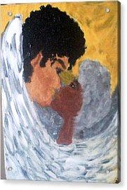 Heavenly Embrace Acrylic Print by Violette Meier