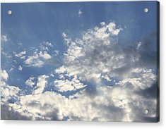 Heavenly Acrylic Print by Inspired Arts