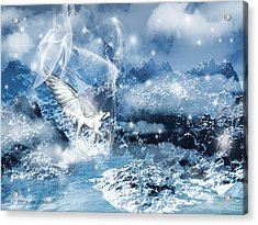 Heavenly Interlude Acrylic Print by Lourry Legarde