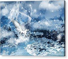 Heavenly Interlude Acrylic Print by Lourry Legarde