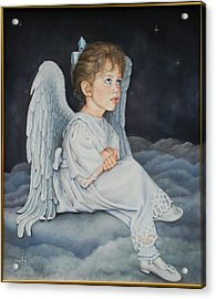 Heavenly Messanger -mahalahk Acrylic Print by Ruth Gee