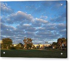Heavenly Sky Acrylic Print