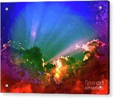 Heaven's Jewels Acrylic Print by Kevyn Bashore