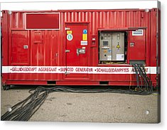 Heavy Duty High Power Industrial Acrylic Print by Corepics