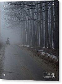 Heavy Foggy Day Acrylic Print