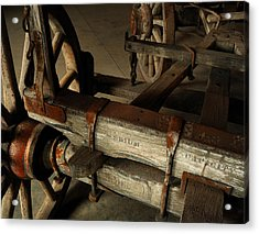 Heavy Hauler - Vintage Wagon Acrylic Print