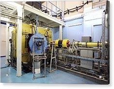 Heavy Ion Accelerator, Russia Acrylic Print by Ria Novosti