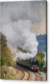 Heavy Metal In Motion Acrylic Print