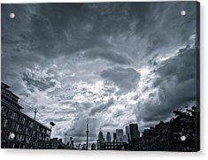 Heavy Sky Acrylic Print by Luba Citrin