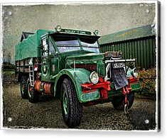Heavy Work Acrylic Print by Julie Williams