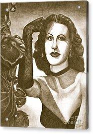 Heddy Lamar Acrylic Print