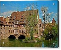 Heilig-geist-spital In Nuremberg Acrylic Print