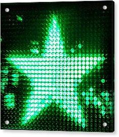 #heineken #star #beer Acrylic Print